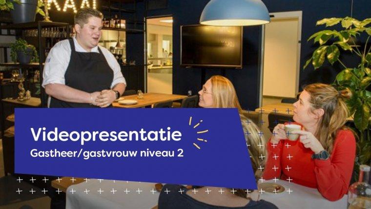 YouTube video - Videopresentatie opleidingen Gastheer/gastvrouw niveau 2