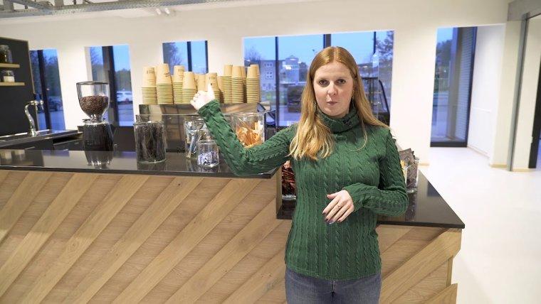 YouTube video - Rondleiding door het nieuwe Horeca & Toerisme College