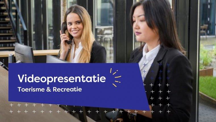YouTube video - Videopresentatie opleidingen Toerisme & Recreatie